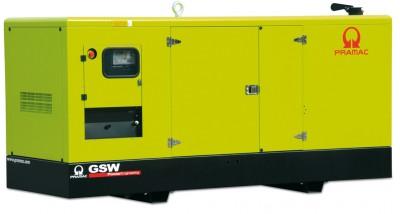 Дизельный генератор Pramac GSW 150 P в кожухе с АВР