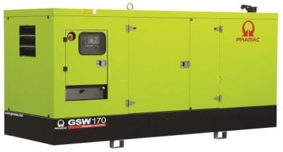 Дизельный генератор Pramac GSW 170 I в кожухе