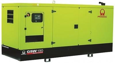 Дизельный генератор Pramac GSW 190 I в кожухе