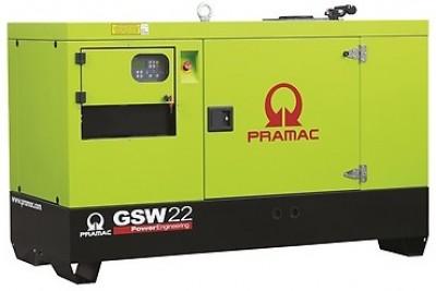 Дизельный генератор Pramac GSW 22 Y 1 фаза