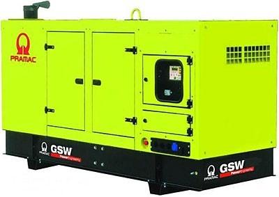 Дизельный генератор Pramac GSW 110 V в кожухе