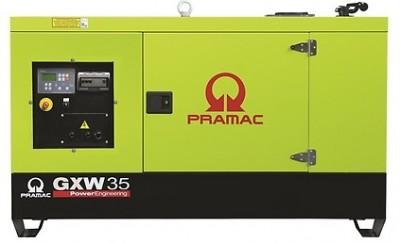 Дизельный генератор Pramac GXW 35 W в кожухе
