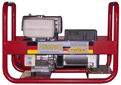 Бензиновый генератор AMG H 6000