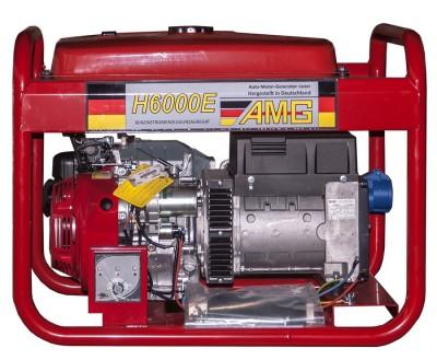 Бензиновый генератор AMG H 6000E с АВР