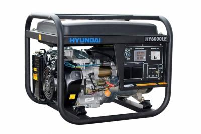 Бензиновый генератор Hyundai HY 6000LE