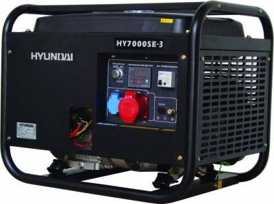 Бензиновый генератор Hyundai HY 7000SE-3