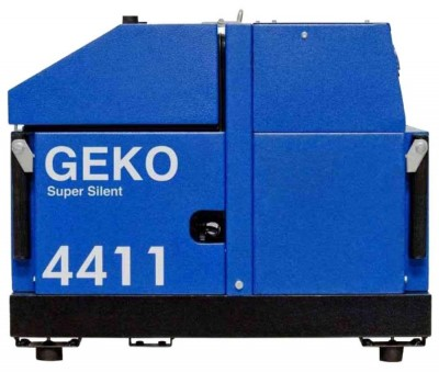 Бензиновый генератор Geko 4411 E-AA/HHBA SS