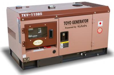 Дизельный генератор TOYO TKV-11SBS