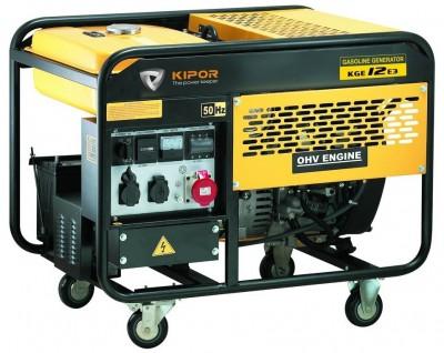 Бензиновый генератор Kipor KGE 12 E3