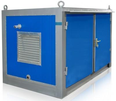 Дизельный генератор SDMO T 12KM в блок-контейнере ПБК 2 с АВР