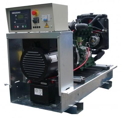 Дизельный генератор Lister Petter LWA 27/LLD 250 3 фазы с АВР