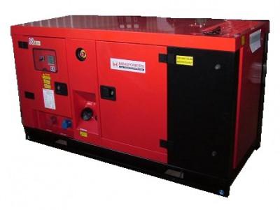 Дизельный генератор MingPowers M-C110 в кожухе с АВР