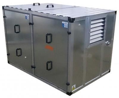 Бензиновый генератор Honda EM10000 в контейнере