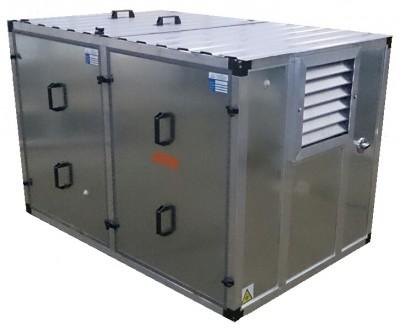 Бензиновый генератор Mitsui Power ZM 10000 E в контейнере