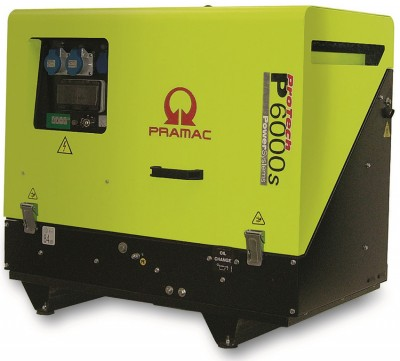 Дизельный генератор Pramac P 6000s 3 фазы