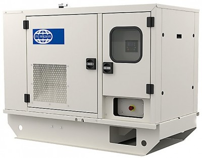 Дизельный генератор FG Wilson P16.5-6S в кожухе