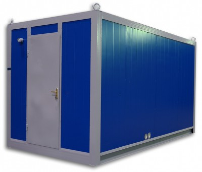 Дизельный генератор SDMO J22 в блок-контейнере ПБК 2