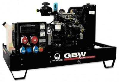 Дизельный генератор Pramac GBW 22 Y 1 фаза