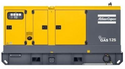 Дизельный генератор Atlas Copco QAS 125