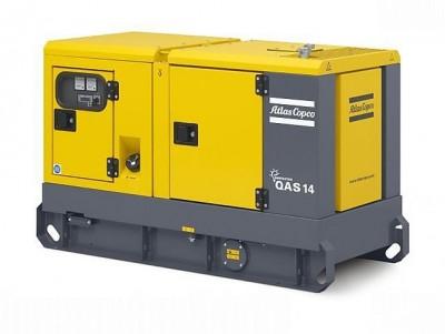 Дизельный генератор Atlas Copco QAS 14 с АВР