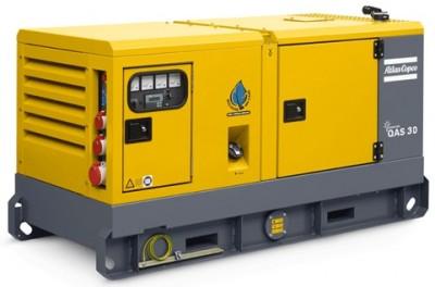 Дизельный генератор Atlas Copco QAS 30
