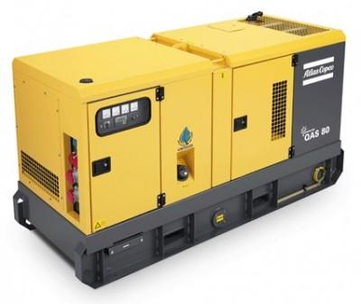 Дизельный генератор Atlas Copco QAS 80