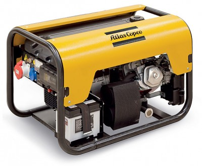 Дизельный генератор Atlas Copco QEP R10 с АВР