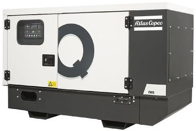 Дизельный генератор Atlas Copco QIS 10 230V в кожухе с АВР