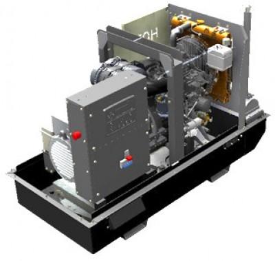 Дизельный генератор Atlas Copco QIS 10 230V с АВР