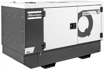 Дизельный генератор Atlas Copco QIS 35 230V в кожухе