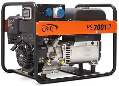 Бензиновый генератор RID RS 7001 P