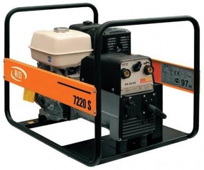 Бензиновый генератор RID RS 7220 S