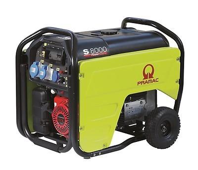 Бензиновый генератор Pramac S8000 с АВР