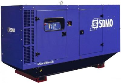 Дизельный генератор SDMO J130K в кожухе с АВР