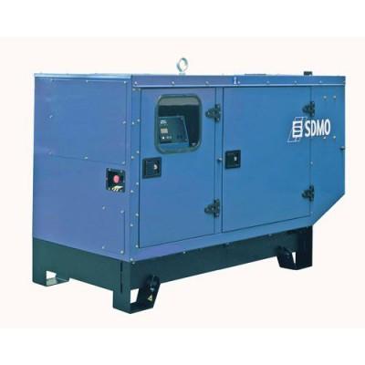 Дизельный генератор SDMO J44K в кожухе с АВР