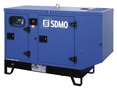 Дизельный генератор SDMO T 12HK в кожухе с АВР