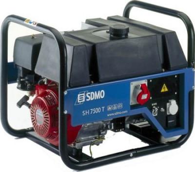Бензиновый генератор SDMO HX 7500 TC (HX 7500 TS)