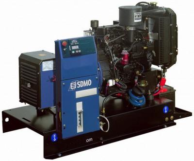 Дизельный генератор SDMO T 11HKM с АВР