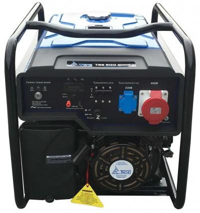 Бензиновый генератор ТСС SGG 6000 E3 (новая модель)