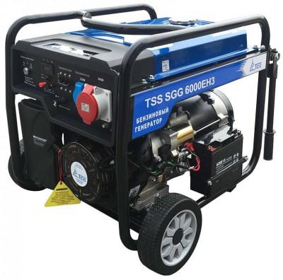 Бензиновый генератор ТСС SGG 6000 EH3 (новая модель)