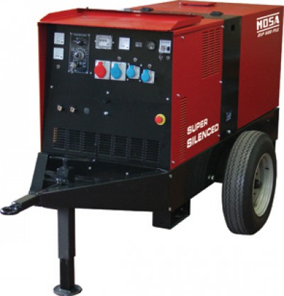 Дизельный генератор Mosa DSP 600 PS