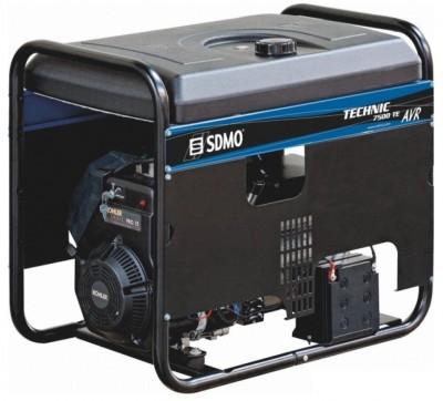 Бензиновый генератор SDMO TECHNIC 7500 TE AVR M с АВР