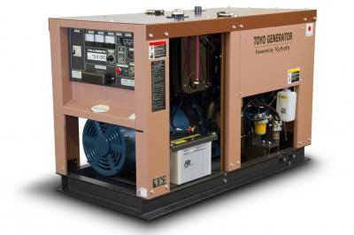 Дизельный генератор Toyo TG-21SPC с АВР