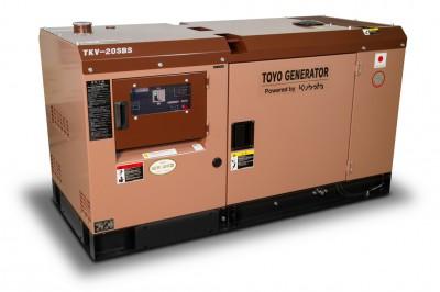 Дизельный генератор TOYO TKV-20SBS