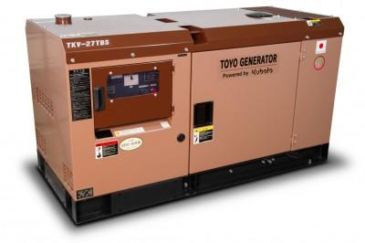 Дизельный генератор Toyo TKV-27TBS с АВР