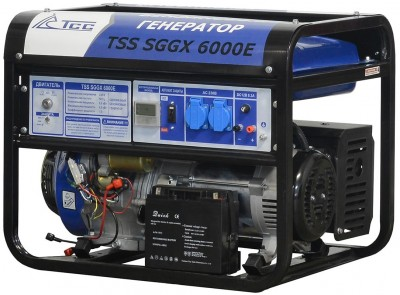 Бензиновый генератор ТСС SGGX 6000E