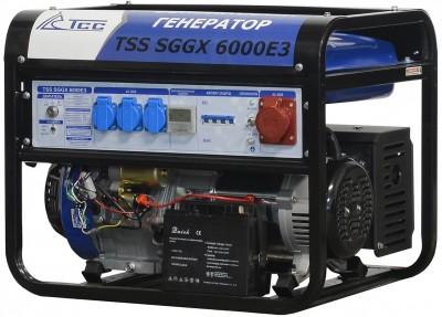 Бензиновый генератор ТСС SGGX 6000 E3 с АВР