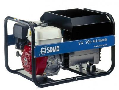 Бензиновый генератор SDMO VX 220/7,5 H-C